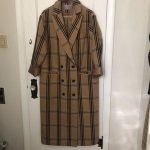 ASOS ankle-length overcoat